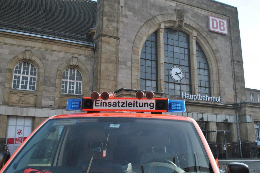 MG 28.10.2014 - Acetylen-Flasche im Hauptbahnhof geriet in Brand