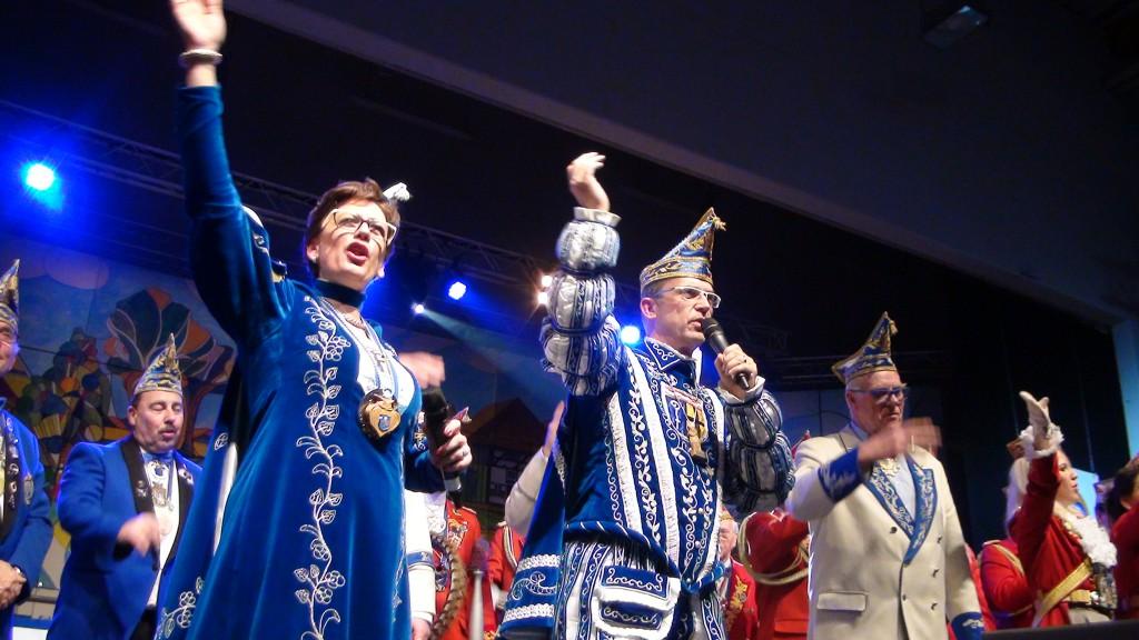 14.02.2015 - Kostümsitzung KG Uehllöeker Krahnendonkhalle Neuwerk