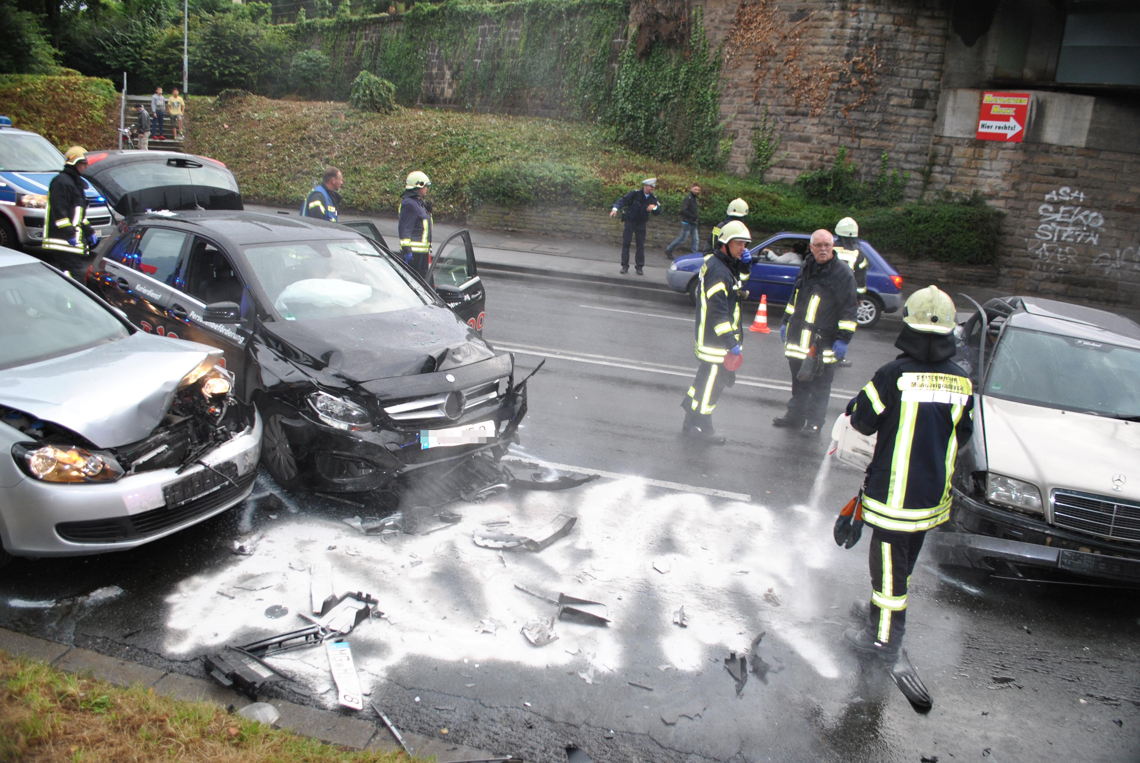 Unfall Odenkirchen
