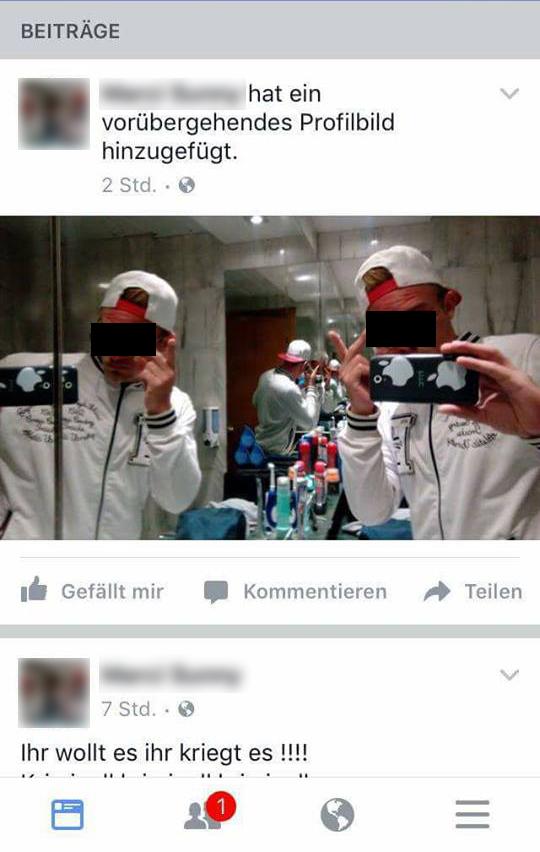 vorübergehendes profilbild facebook