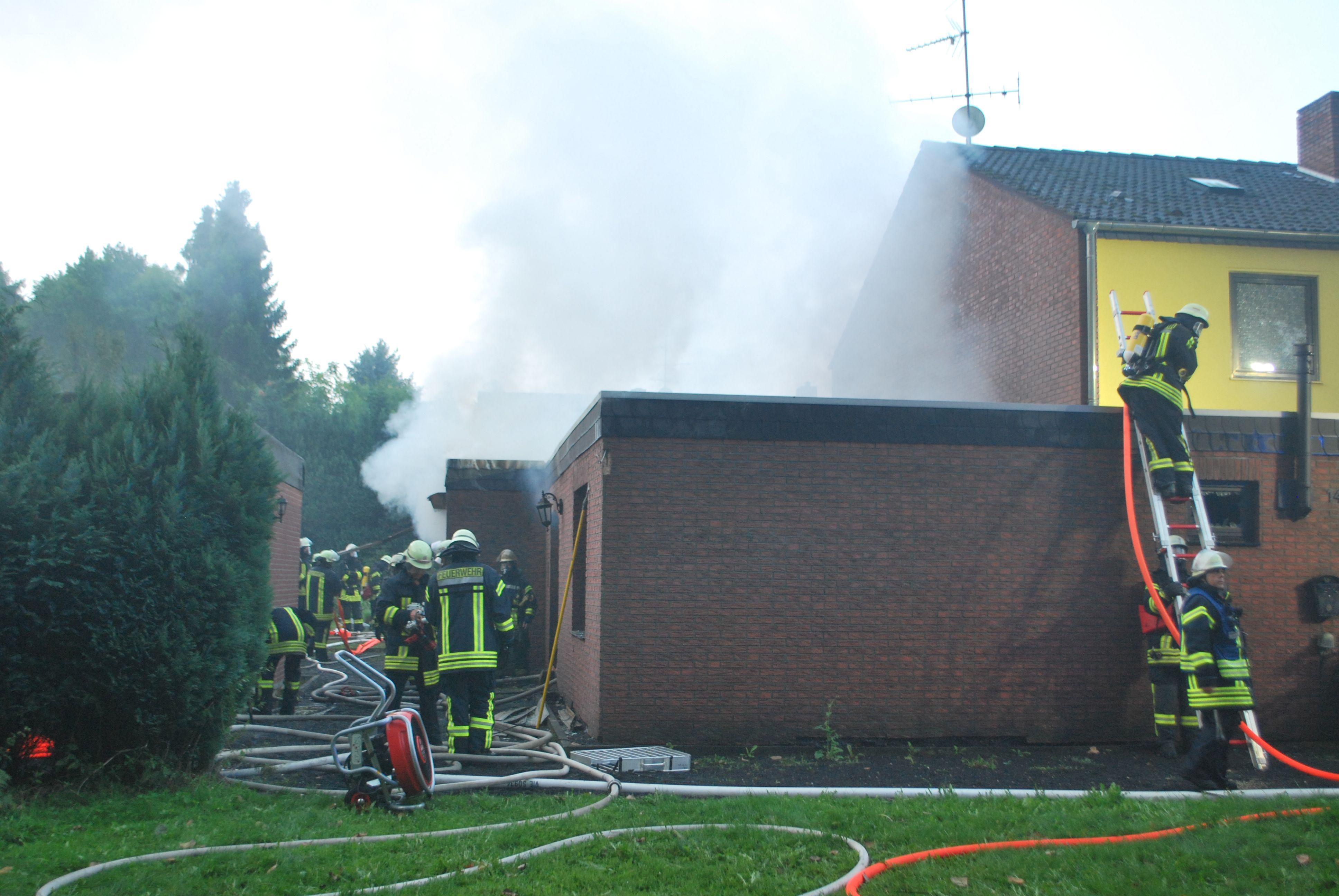 Viersen Hamm Haus brennt nieder – Polizei nimmt