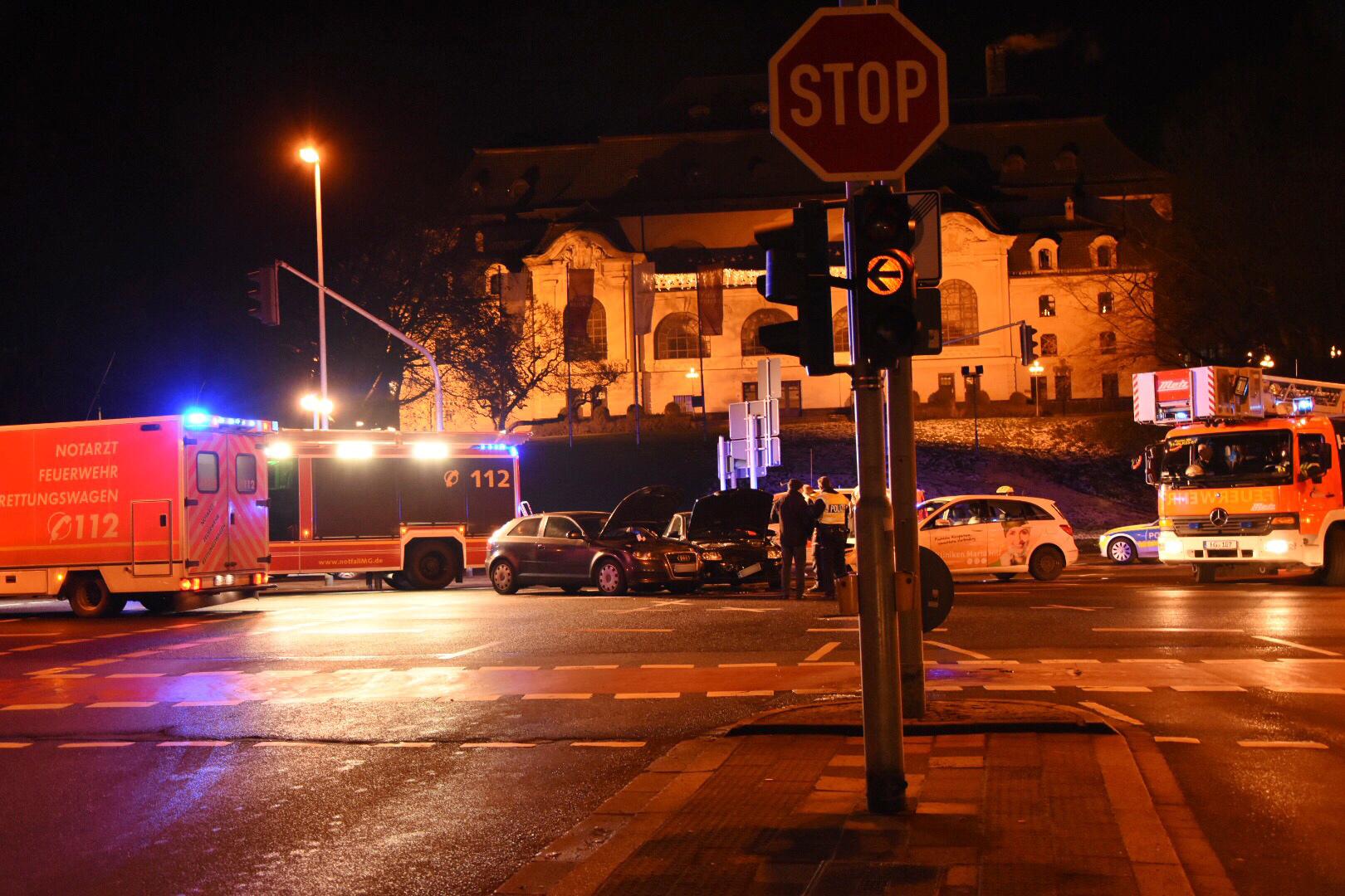 Bismarckstraße Mönchengladbach mönchengladbach ots unfallort mg hohenzollernstraße
