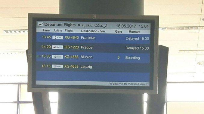 Sunexpress Lässt 200 Urlauber An ägyptischem Flughafen Marsa Alam